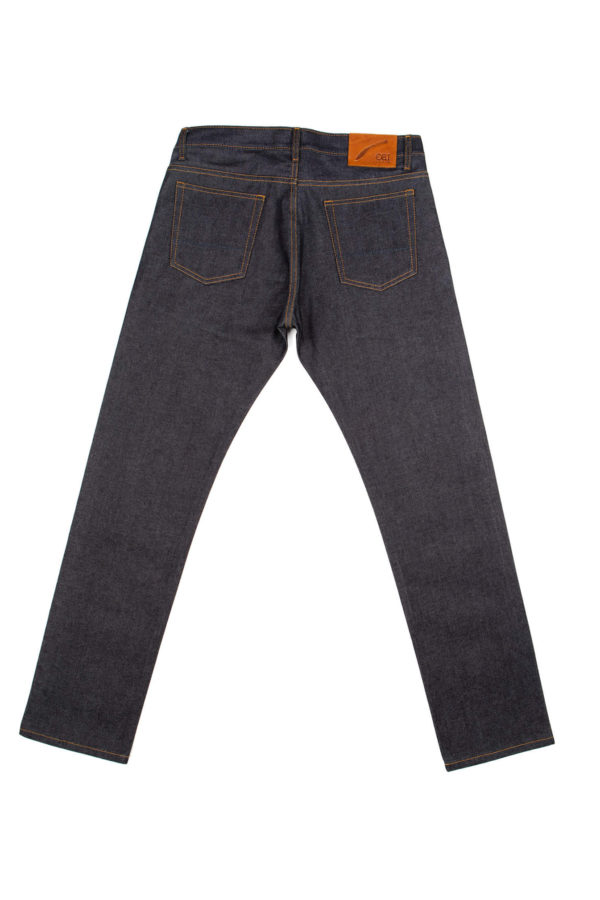 13.5 Oz Brampton Slim Straight Jeans Back