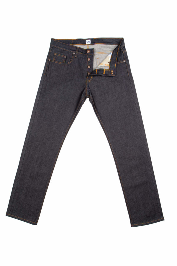 13.5 Oz Brampton Slim Straight Jeans Open
