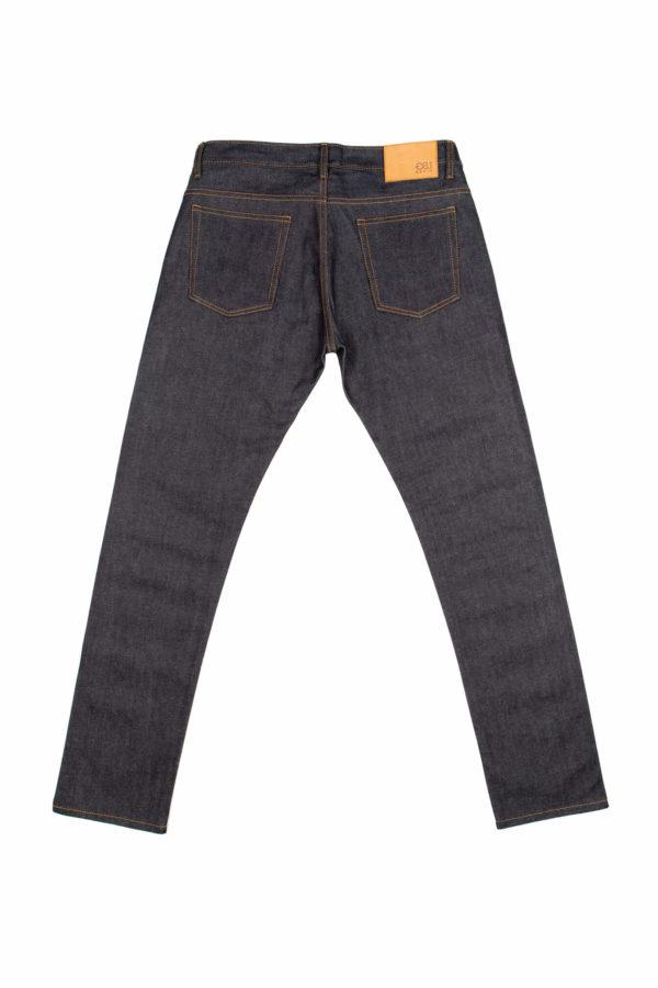13.5 Oz Brooks Slim Fit Jeans Back