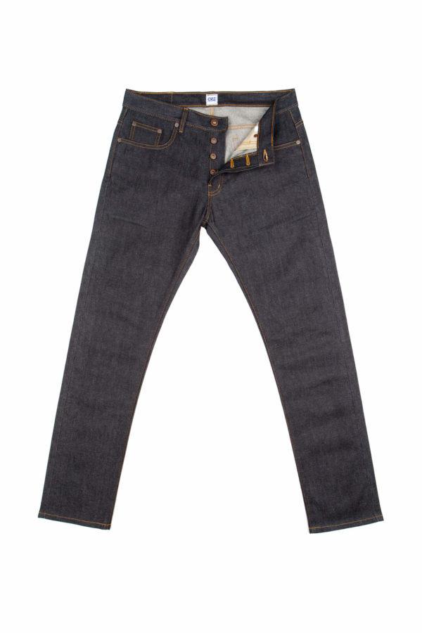 13.5 Oz Brooks Slim Fit Jeans Open