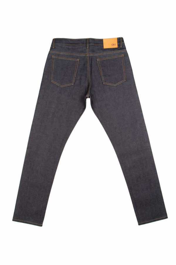 13.5 oz Brunswick-T Straight Tapered Fit Jeans Back