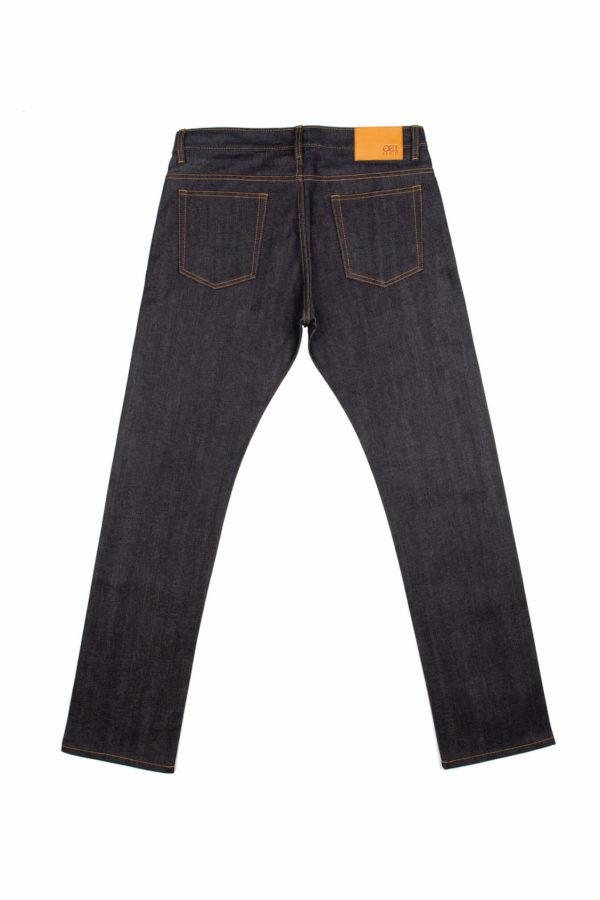 13.75 Oz Brampton Slim Straight Jeans Back