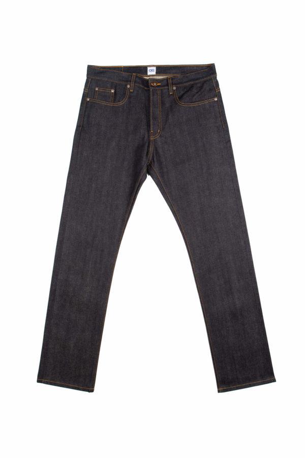 13.75 Oz Brampton Slim Straight Jeans Front