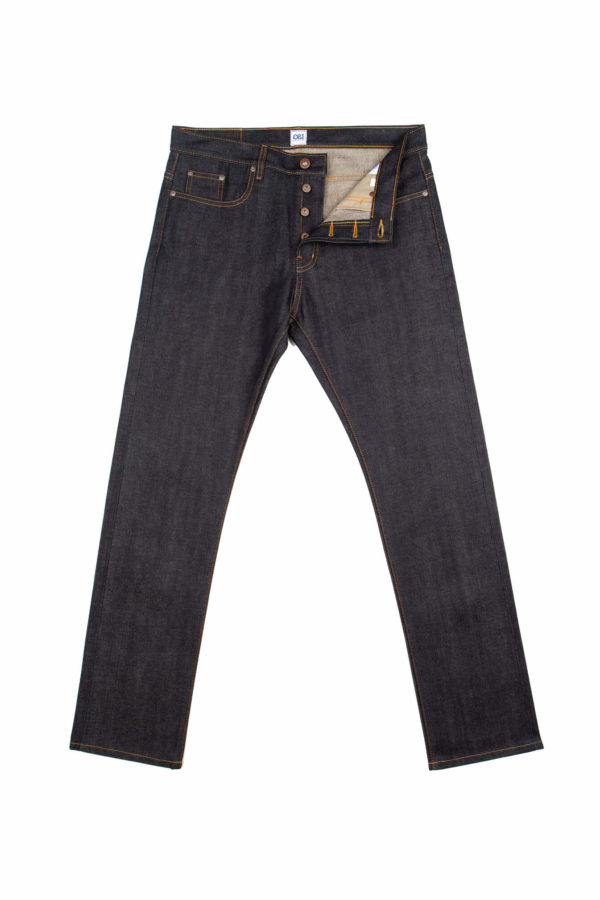 13.75 Oz Brampton Slim Straight Jeans Open