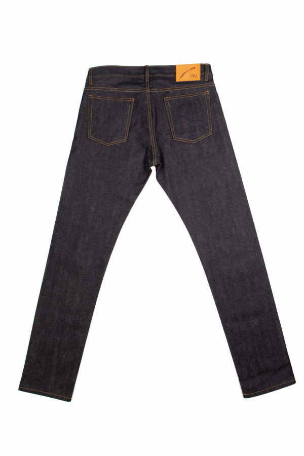 13.75 Oz. Brooks Slim Fit Jeans Back