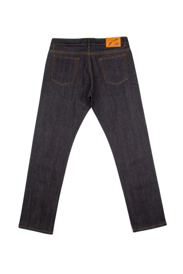 13.75 oz Brunswick Straight Fit Jeans Back