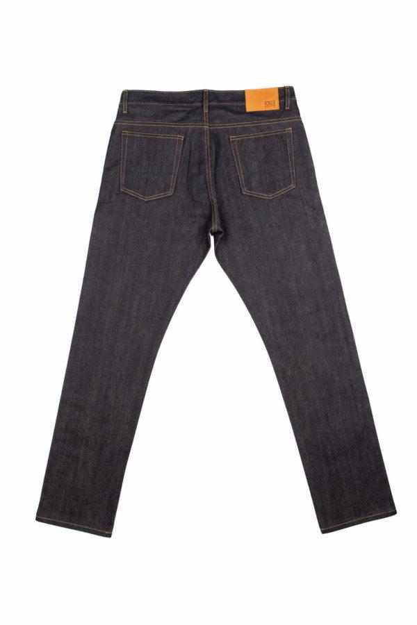 13.75 oz Brunswick Straight Fit Jeans Back