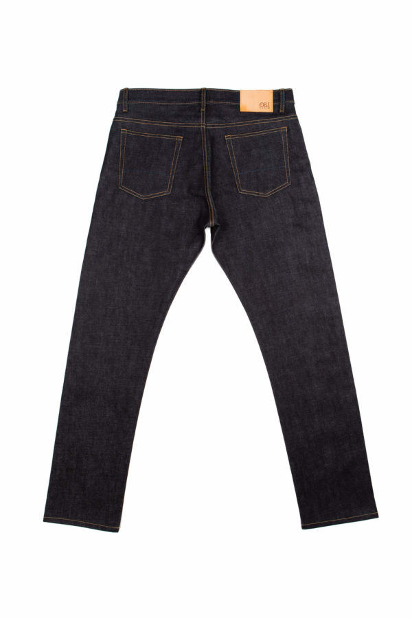 16.25 oz Brunswick Straight Fit Jeans Back