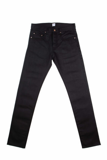 13.4 oz Black Brooks Slim Fit Jeans Front