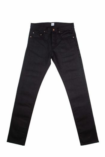 13.4 oz Black Brooks Slim Fit Jeans Front
