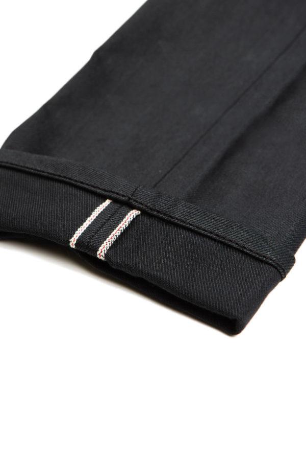13.4 oz Black Jeans Cuff