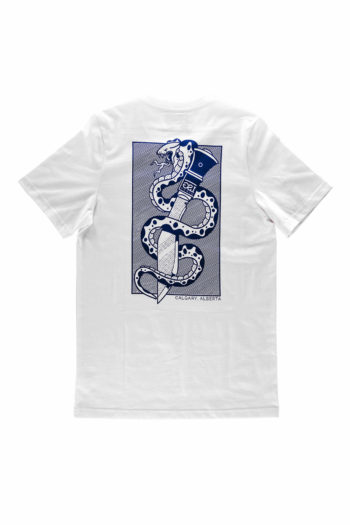Snake & Dagger Tshirt Back
