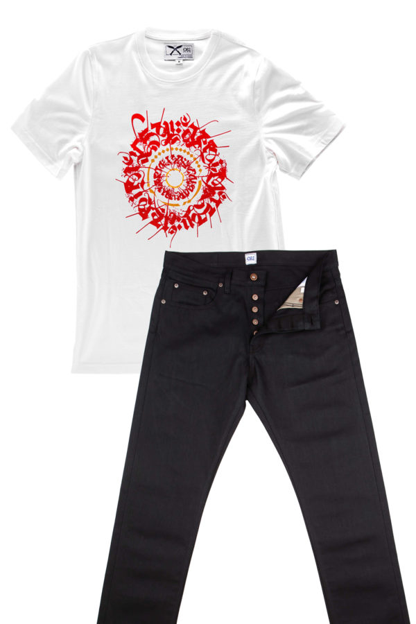 Combo Deal Tshirt & Black Jeans