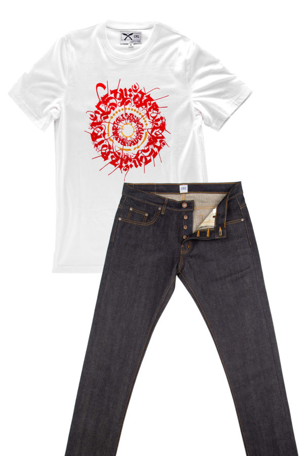 Combo Deal Tshirt & Blue Jeans