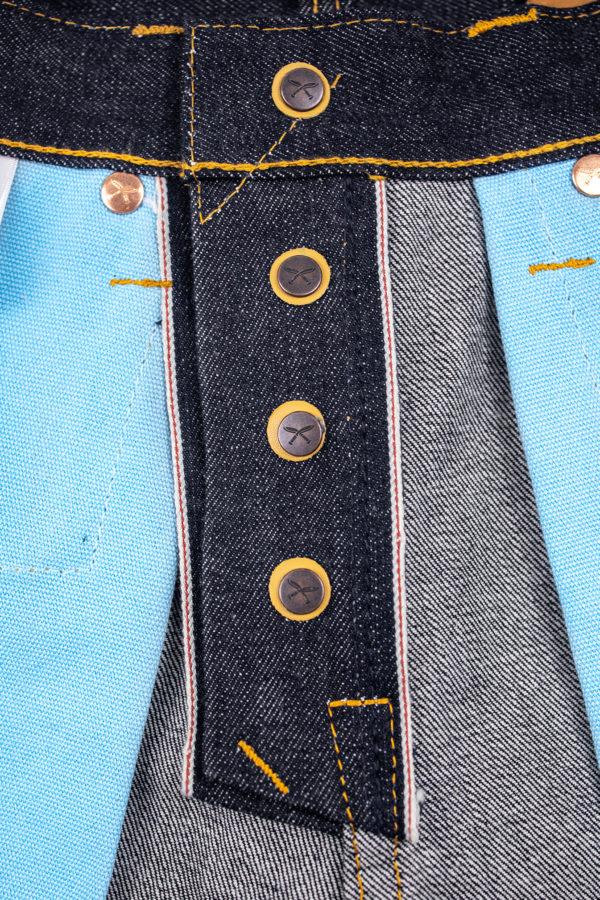 14.5 Slubby Brunswick-T Button